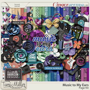 Music to My Ears Full Kit by Tami Miller and Aimee Harrison