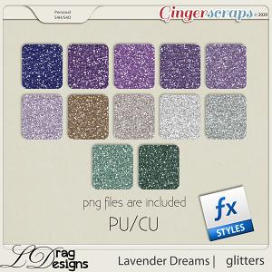 Lavender Dreams: Glitterstyles by LDragDesigns