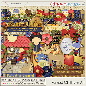 Fairest of Them All (page kit)