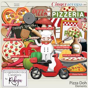 Pizza Doh Elements by Scrapbookcrazy Creations