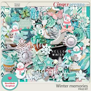 Winter memories by HeartMade Scrapbook