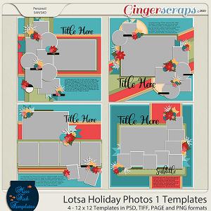 Lotsa Holiday Photos 1 Templates by Miss Fish