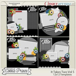 It Takes Two Volume 5 - 12x12 Temps (CU Ok)
