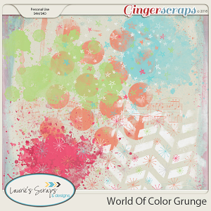 World of Color Grunge