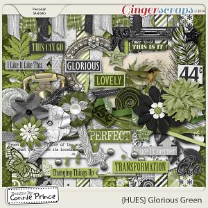 {HUES} Glorious Green - Kit