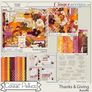 Thanks & Giving - Bundle by Connie Prince