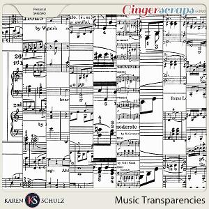 Music Transparencies 01 by Karen Schulz