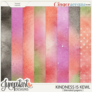 Kindness Is Kewl {Blended Papers} by Jumpstart Designs