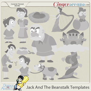 Doodles By Americo: Jack And The Beanstalk Templates