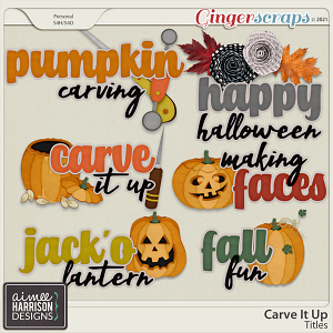 Carve It Up Titles by Aimee Harrison