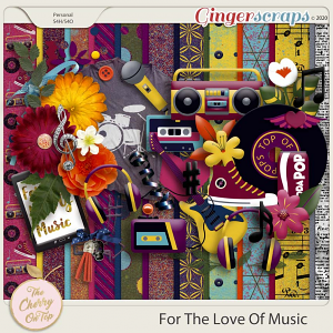 The Cherry On Top: For The Love Of Music Kit