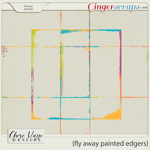 Fly Away Painted Edgers by Chere Kaye Designs