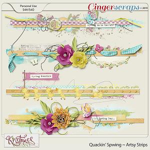 Quackin' Spwing Artsy Strips