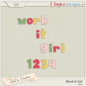 Work It Girl Alpha by LouCee Creations