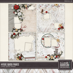 Hygge Quickpages by Aimee Harrison