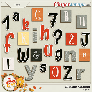 Capture Autumn Alphas by JB Studio