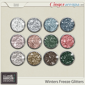 Winters Freeze Glitters by Aimee Harrison