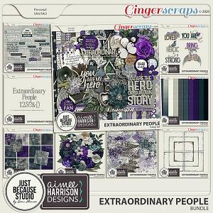 Extraordinary People Bundle by JB Studio & Aimee Harrison