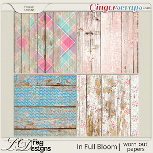 In Full Bloom: Worn Out Papers by LDragDesigns