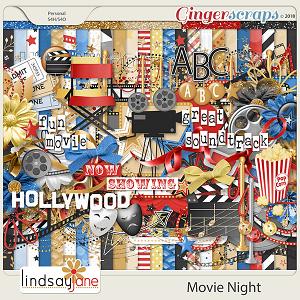 Movie Night by Lindsay Jane