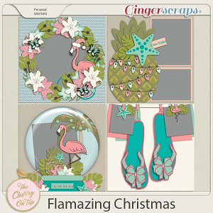 The Cherry On Top:  Flamazing Christmas Templates