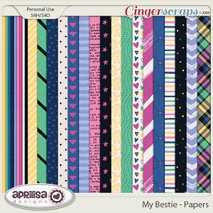 My Bestie - Papers by Aprilisa Designs
