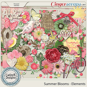 Summer Blooms - Elements