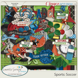 Sports: Soccer Page Kit