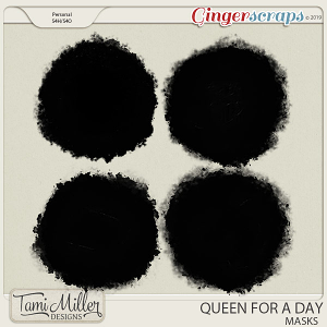 Queen for a Day Masks by Tami Miller Designs