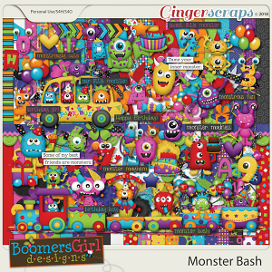 Monster Bash by BoomersGirl Designs