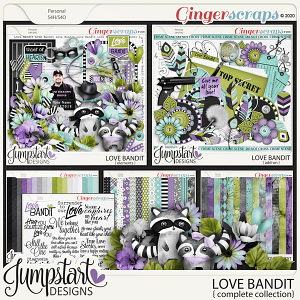 Love Bandit {Complete Collection} by Jumpstart Designs