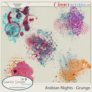 Arabian Nights Grunge
