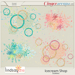 Icecream Shop Scatterz by Lindsay Jane