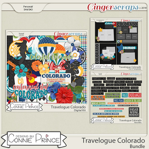 Travelogue Colorado - Bundle Pack by Connie Prince