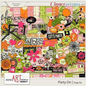 Party On Page Kit