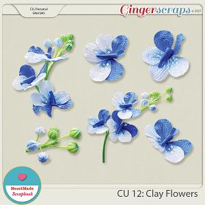 CU 12 - Clay flowers
