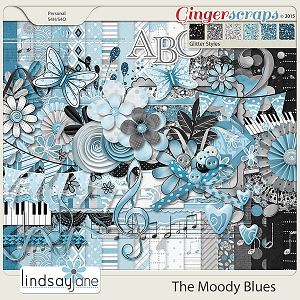 The Moody Blues by Lindsay Jane