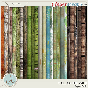 Call Of The Wild Paper Pack by Ilonka's Designs