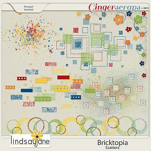 Bricktopia Scatterz by Lindsay Jane