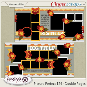 Picture Perfect 124 - Double Pages
