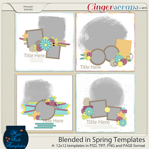 Blended in Spring Templates by Miss Fish