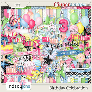 Birthday Celebration by Lindsay Jane