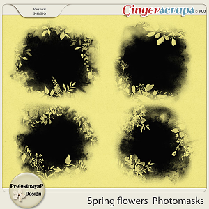 Spring flowers Photomasks