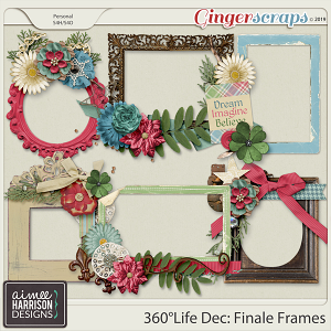 360°Life Dec: Finale Frame Clusters by Aimee Harrison