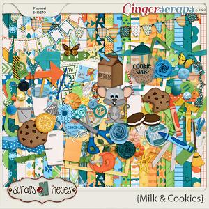Milk and Cookies Bundled Kit - Scraps N Pieces