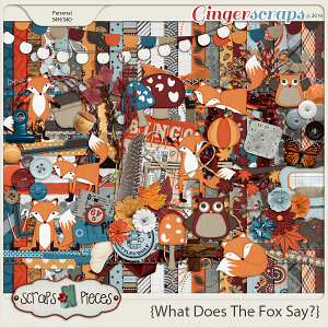 What Does The Fox Say? Kit by Scraps N Pieces