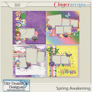 Spring Awakening {Quick Pages} by Day Dreams 'n Designs