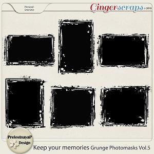 Keep your memories Grunge Photomasks Vol.5