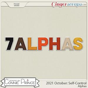 2021 October: Self-Control Bonus Alphas by North Meets South Studios