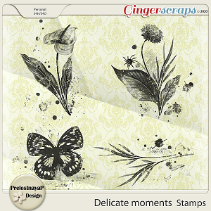 Delicate moments Stamps